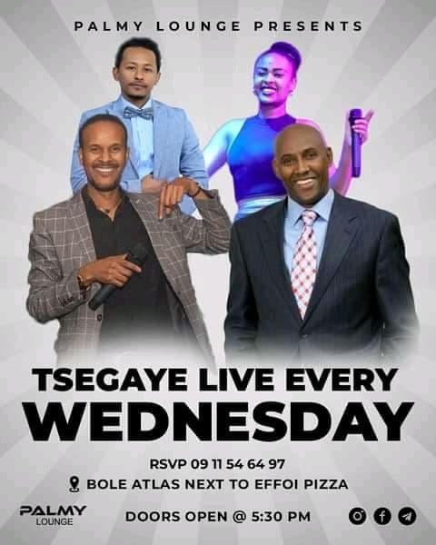 Tsegaye Live Every Wednesday