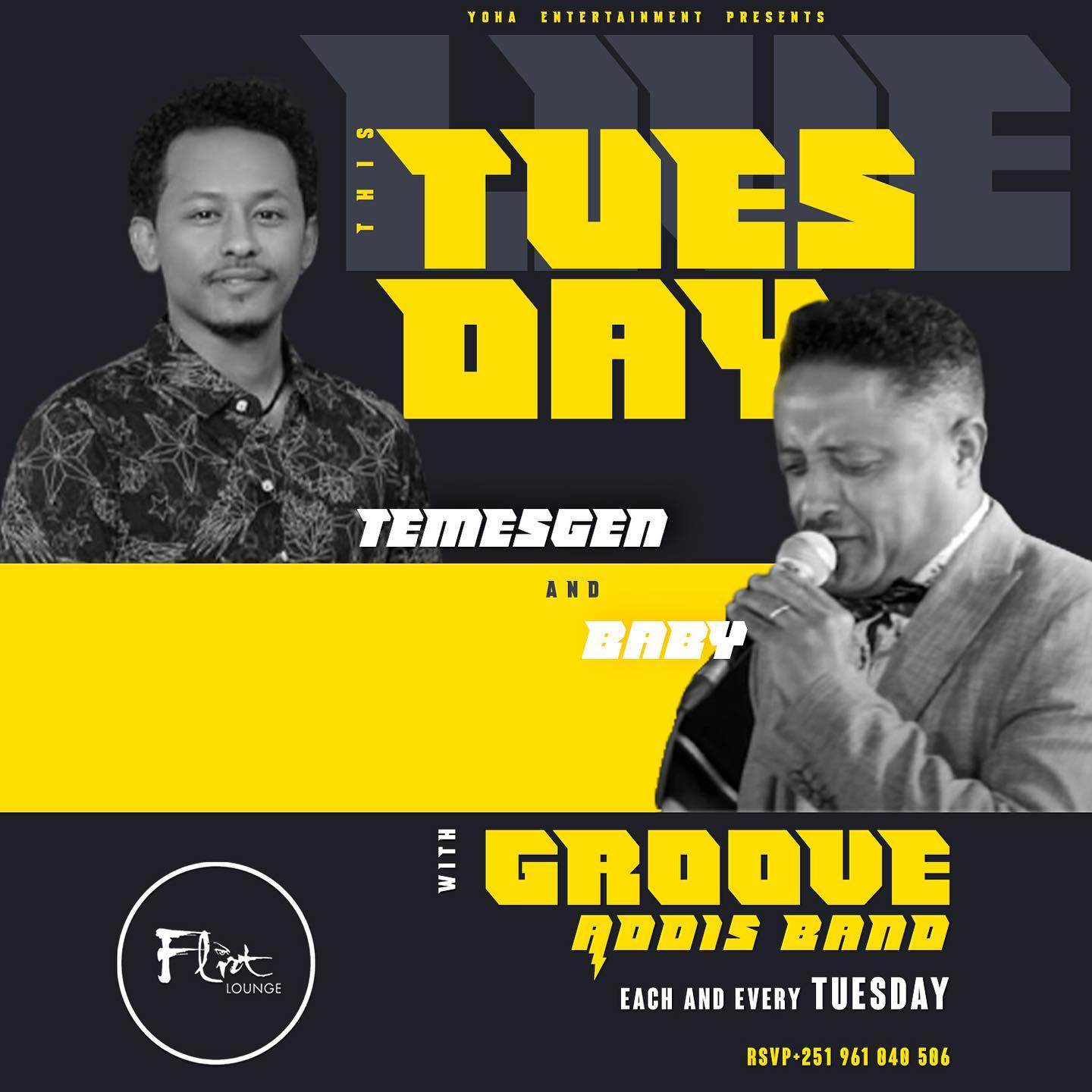 Tuesday with Groove Addis band
