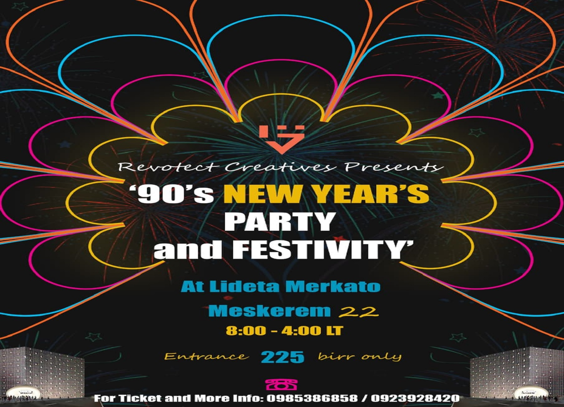 90's PARTY and FESTIVITY