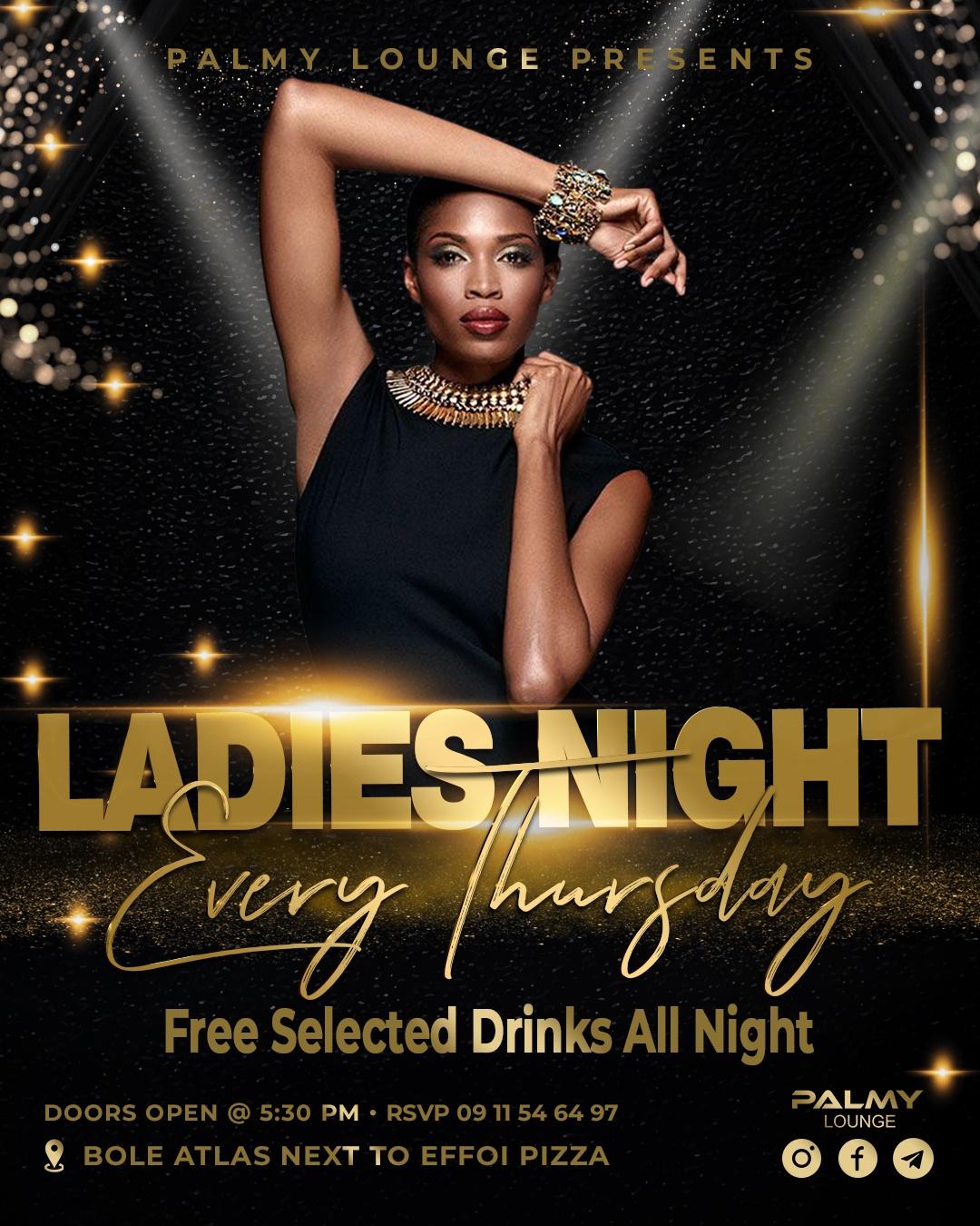 Ladies Night Every Thursday