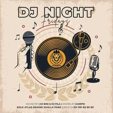 Dj Night Fridays