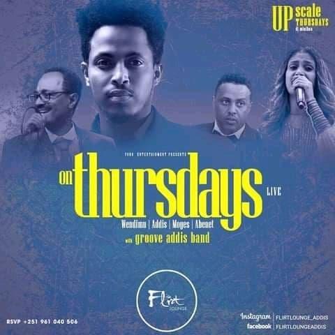 Groove Addis band on Thursdays