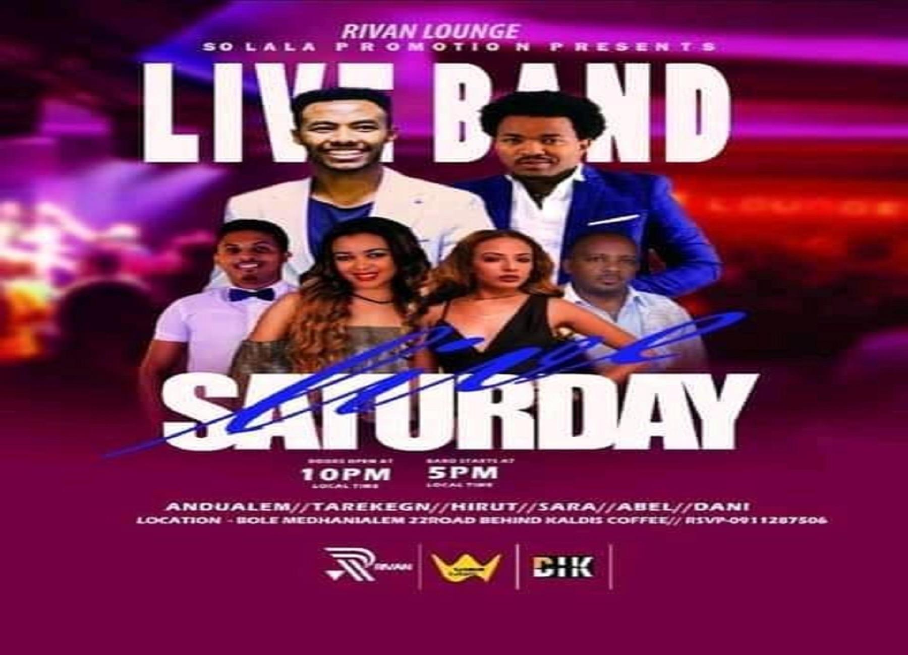 Saturday Live band